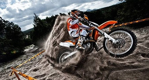 KTM is one of the world's leading manufacturers of off-road bikes.