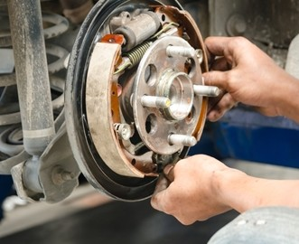 Replacement brake pads must meet ECE R90 regulations for design and performance.