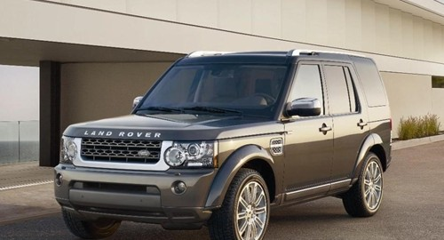 The Land Rover Discovery is marketed in the U.S. as the LR4.