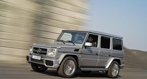 The Mercedes G63 AMG is one of the vehicles covered by the new QuietCast brake pad.