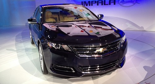The recall order applies to Chevy Impalas from model year 2014.
